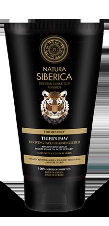 Naturalny, orzeźwiający peeling do twarzy dla mężczyzn Tiger's Paw Natura Siberica Men